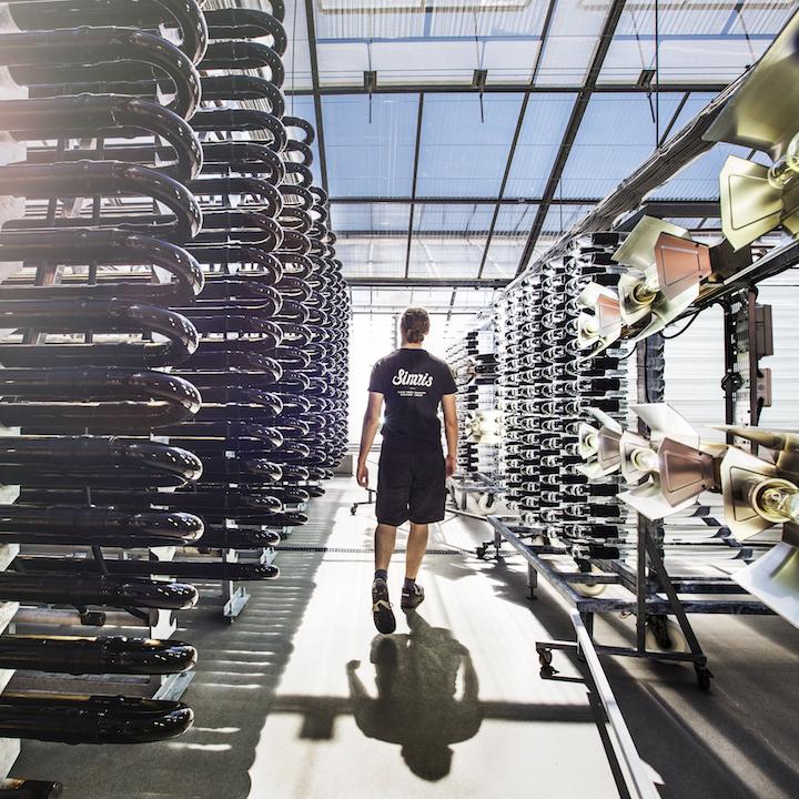 En av världens modernaste algodlingar finns i Hammenhög